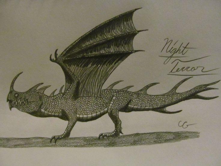 How To Train Your Dragon: Night Terror by AcroSauroTaurus on DeviantArt