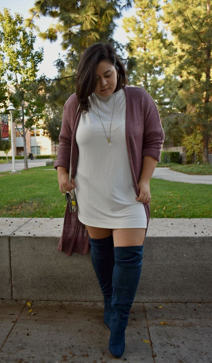 27++ Plus size over the knee boots ideas ideas in 2021