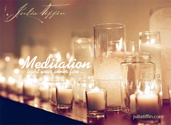 Light your inner fire is a signature retreat week-end hosted by Julia Tiffin to ignite your inner spark and allow you to live your life with passion! Meditation is one of the tools used on this retreat week-end. http://juliatiffin.com  #returntothesacred