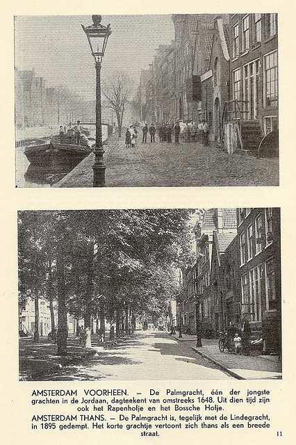 Amsterdam, then & then by juffrouwjo, via Flickr