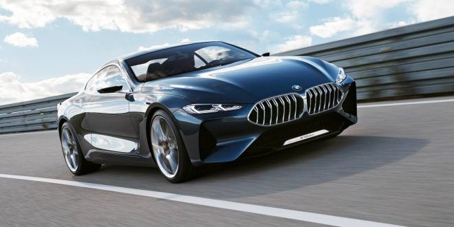 BMW 8 Series Concept breaks cover ahead of 2018 arrival