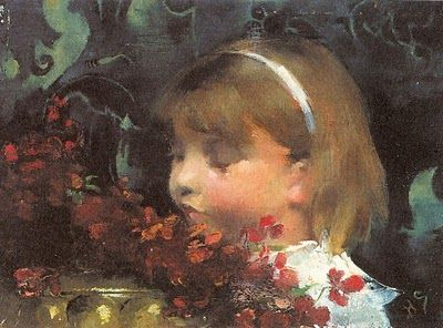Helene Schjerfbeck (1862-1946) Portrait of a Child 1883