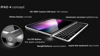 """iPad Surface"": Apple-Tablet mit herausziehbarer Tastatur [Designstudie]"
