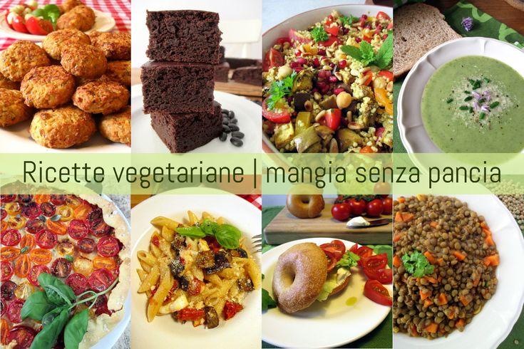 Una raccolta di ricette vegetariane light (latto-ovo) corredate di punti Weight Watchers Propoints, dal blog Mangia senza Pancia.