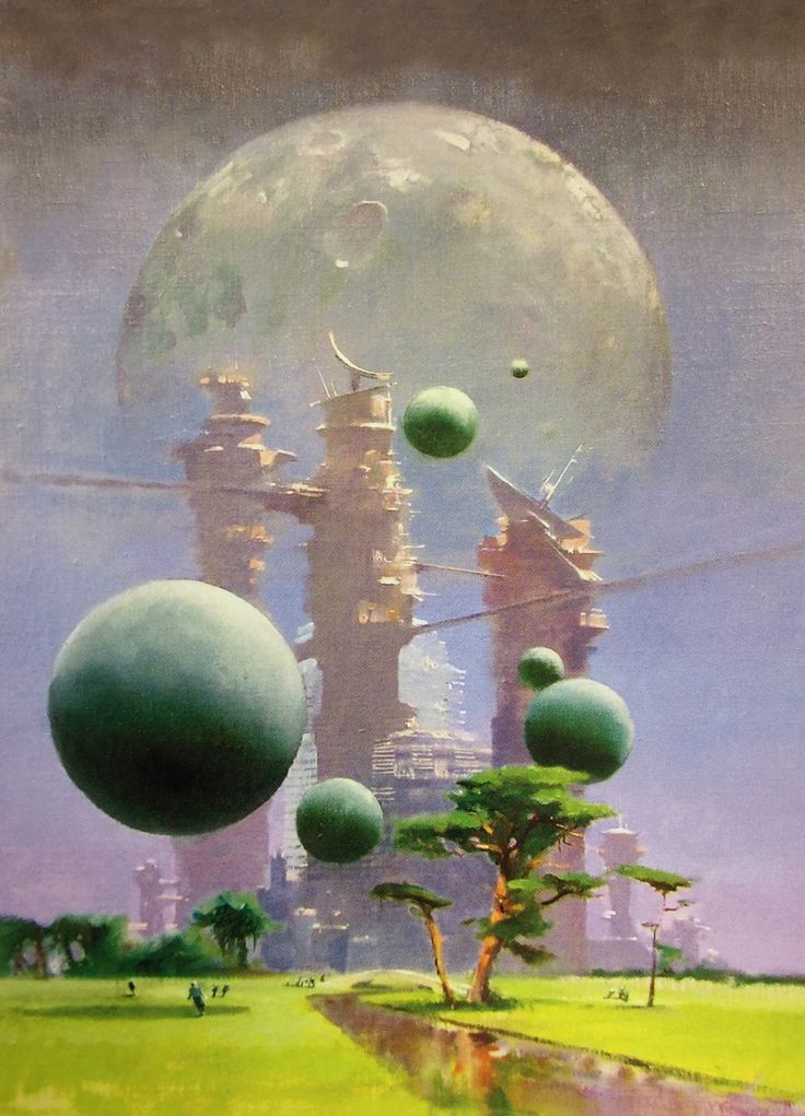 "martinlkennedy: ""Armies of Memory (author: John Barnes), 2006 by John Harris. Image from the book the Art of John Harris: Beyond the Horizon (2014) """