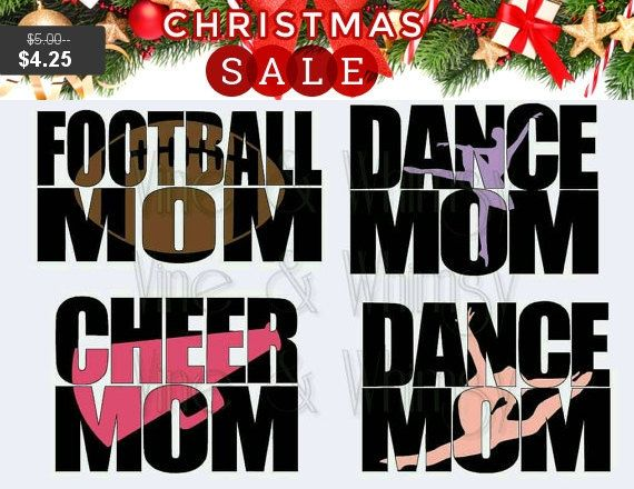 Sports Mom Decal, Car decal, waterproof vinyl sticker, personalized sports decal, bumper sticker, accessories decal football cheer dance