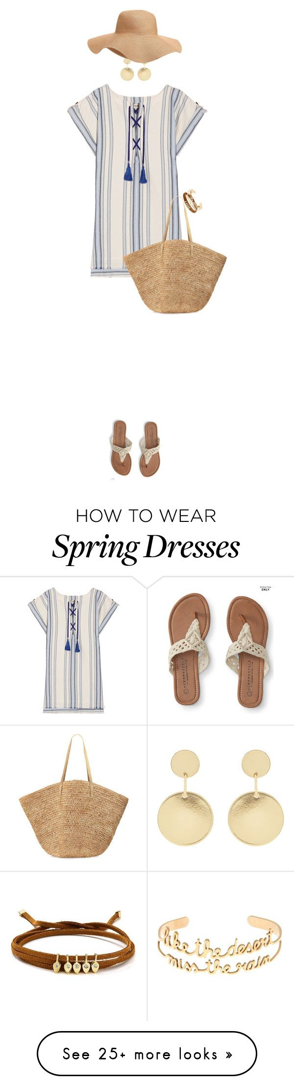"""Flip Flops For Spring/Summer"" by ittie-kittie on Polyvore featuring Lemlem, Aéropostale, Accessorize, Flora Bella, Old Navy, Jules Smith and VANINA"