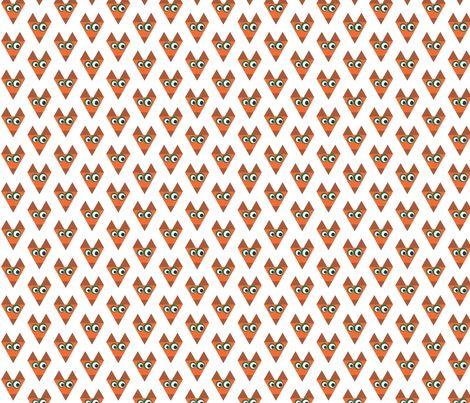 Fox  fabric by mofje on Spoonflower - custom fabric