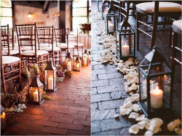 Eine Hochzeitszeremonie im Freien kann von Natur aus sehr romantisch sein, aber …   – Wedding Decors