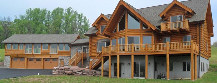 Gingrich Builders offers quality built log homes in PA. Whether you want to build a log cabin as your primary residence or vacation home, we have complete turn key solutions to suit everyone! We are well known for our custom log homes, but our quality craftsmen are skilled at remodeling and restoring homes as well. If you're looking to tackle a log home project by yourself we carry log home materials for sale, just give us a call!