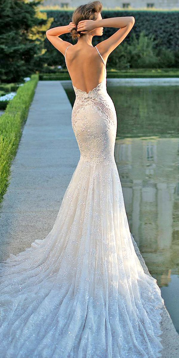Jeweled Wedding Dresses - Trend For 2016 ❤ See more: http://www.weddingforward.com/jeweled-wedding-dresses/ #weddings #dresses