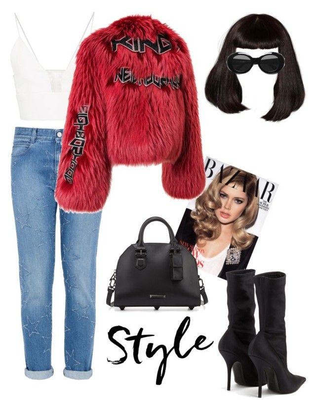 """Street💥"" by pamelyas on Polyvore featuring moda, STELLA McCARTNEY, Balenciaga, Narciso Rodriguez, Acne Studios ve Kendall + Kylie"