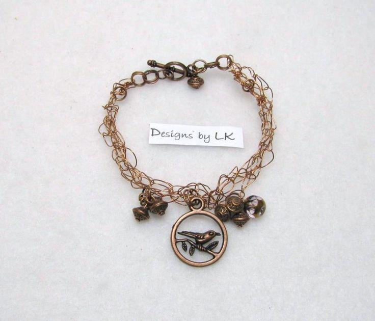 Birds Nest - Jewelry creation by Linda Foust