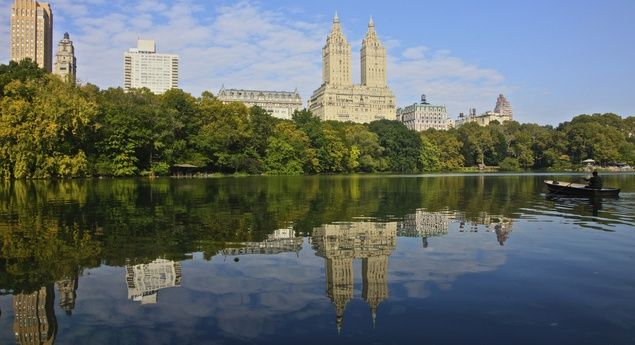 Simply show up at 72nd Street and Fifth Avenue at the right time, and you'll get a free, 90-minute, east-to-west official tour of Central Park's highlights, including The Lake (pictured). (From: Best-Kept Secrets of NYC from the City's Savviest Celebs and Insiders)