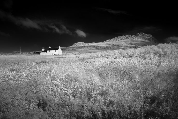 House on the hill near Whitesands in Pembrokeshire. Ive taken a few liberties with the farmhouse and unrenovated it a little. (Reposted after a bit of processing tweaking)