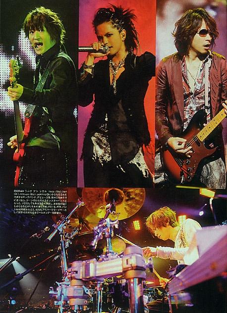 L'Arc~en~Ciel (Japanese Rock Band). World Tour 2012.