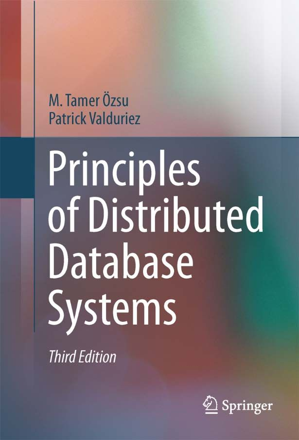 I'm selling Principles of Distributed Database Systems by M. Tamer Özsu and Patrick Valduriez - $35.00 #onselz