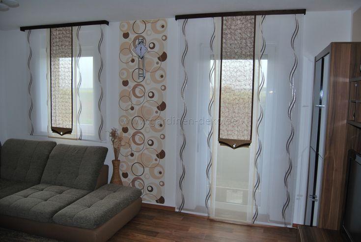 die besten 25 schiebegardine ideen auf pinterest fl chenvorh nge vorhang rollo und vorh nge. Black Bedroom Furniture Sets. Home Design Ideas