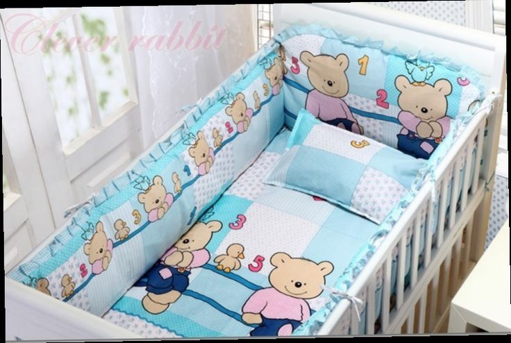 42.80$  Watch here - http://aligu4.worldwells.pw/go.php?t=32380189524 - Promotion! 6PCS Cotton Baby Bedding sets Baby Cot Bed Bumper Set For Newborn Cot Winter (bumpers+sheet+pillow cover) 42.80$