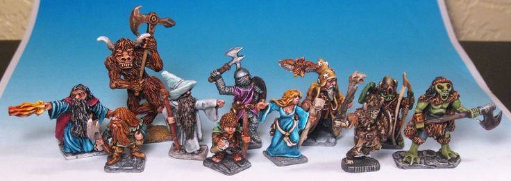 Heritage Miniatures - figures from the dawn of time - Front.