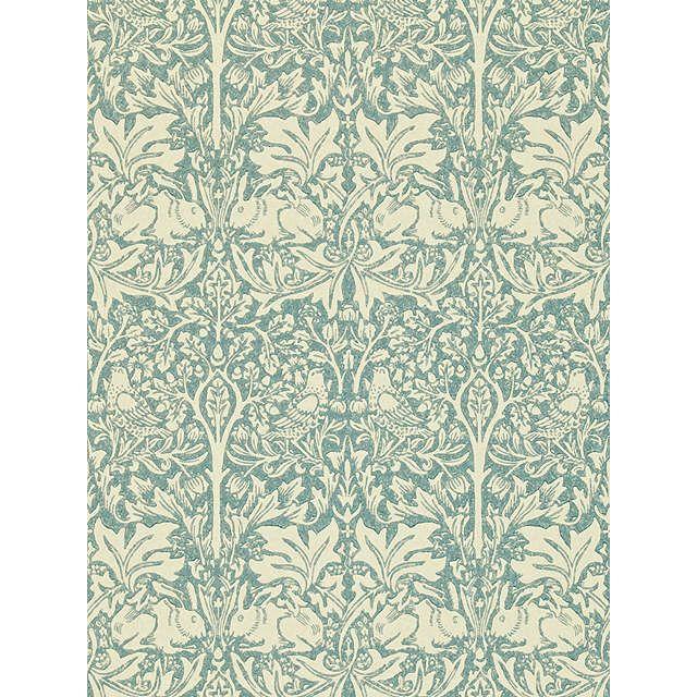 BuyMorris & Co Brer Rabbit Wallpaper, Slate / Vellum, DMCW210413 Online at johnlewis.com