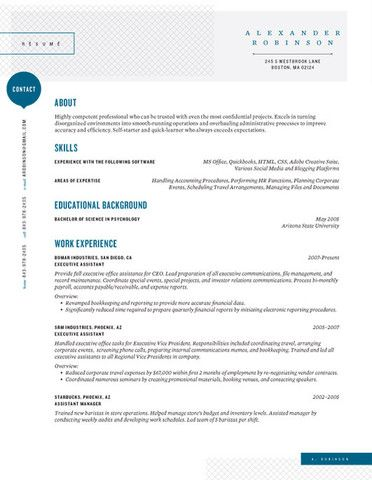 30 best Resumes for Creative Fields images on Pinterest - resume layout tips