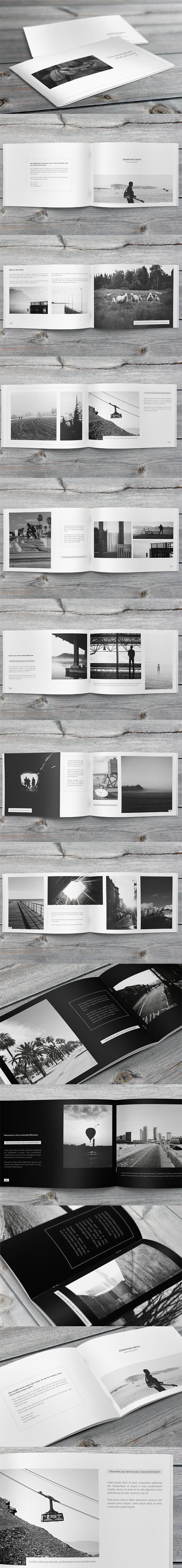 Minimalfolio Photography Portfolio A4 Brochure #4 on Behance