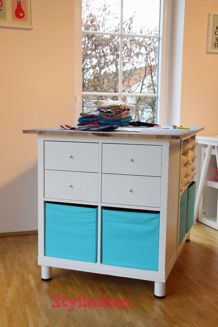 96 besten bastelzimmer ideen bilder auf pinterest bastelzimmer aufbewahrung n hzimmer und. Black Bedroom Furniture Sets. Home Design Ideas