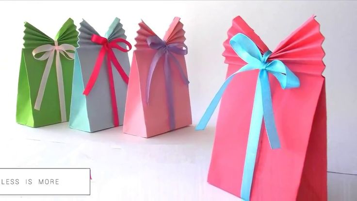 How To Make Paper Gift Bag? - 5 minutes crafts - easy life hack tricks 2017 - YouTube