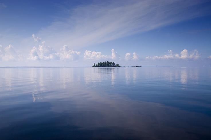 """# """"The sea of Kainuu"""" # Calm evening"""