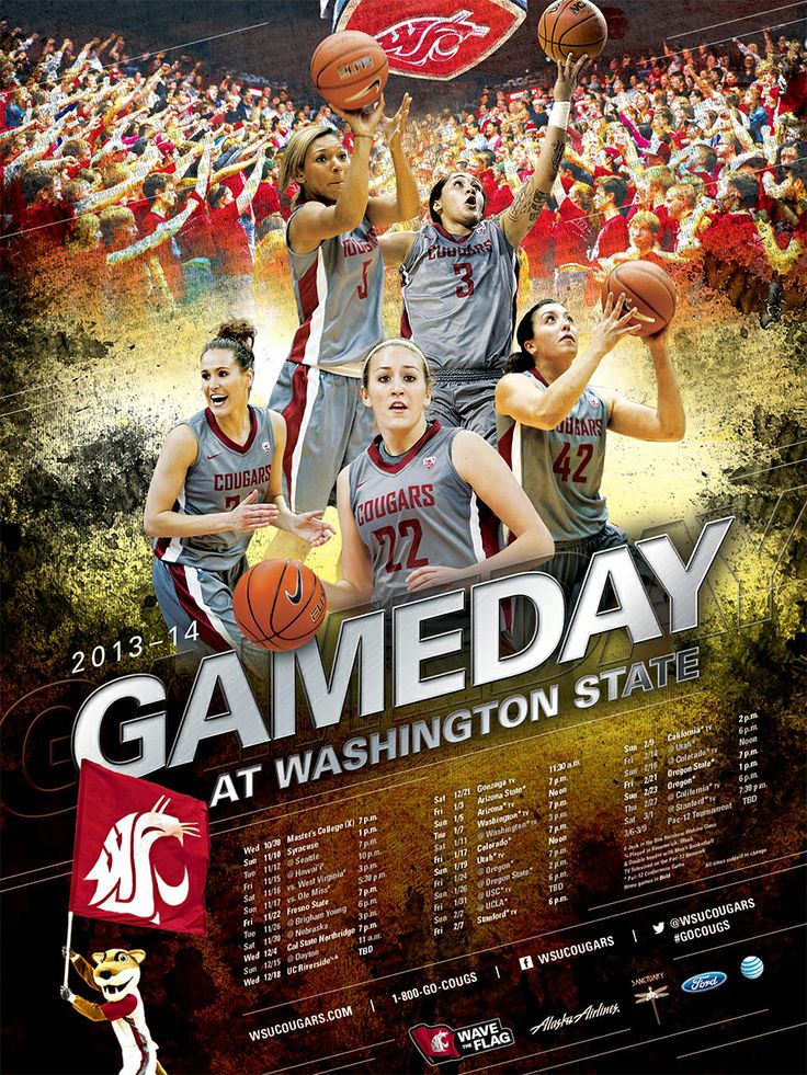Pin by Washington State Cougars on Posters | Pinterest