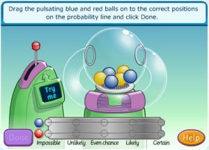 Interactive Probability Game For Kids - Ball Picking Machine