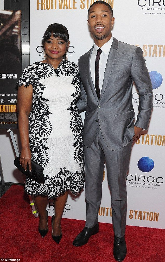 Lead roles: Octavia and Michael B. Jordan star in the movie based on the life of Oscar Grant, the young man shot and killed in 2009 by a transit officer in Oakland, California