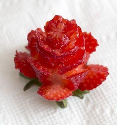Strawberry roses // Eper rózsák  // Mindy - craft & DIY tutorial collection