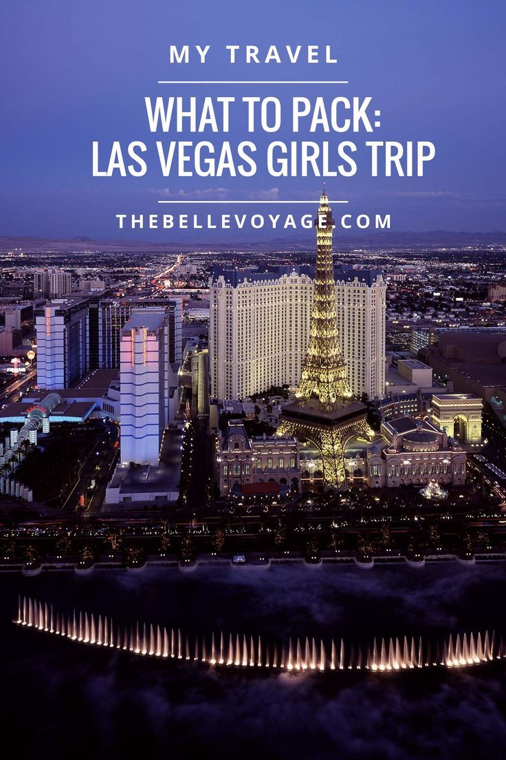 las vegas guide for first timers