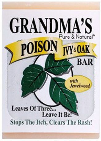 Grandma's Poison Ivy Bar Soap by Remwood Products (2.15oz Soap Bar)