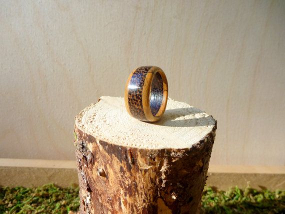 Tamaño de aro de madera negro Palma y arce 9.5 por EverythingArtie