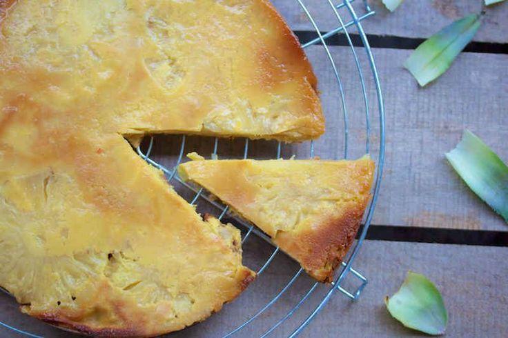Gâteau léger à l'ananas