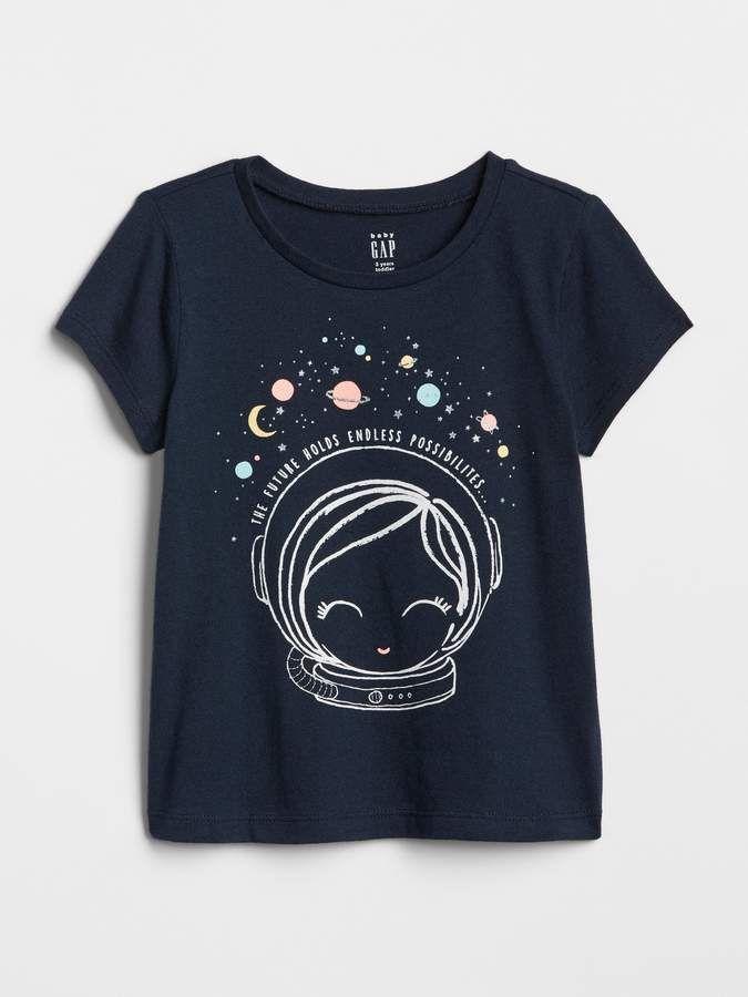 3a4f037ca Gap Graphic Sort Sleeve T-Shirt