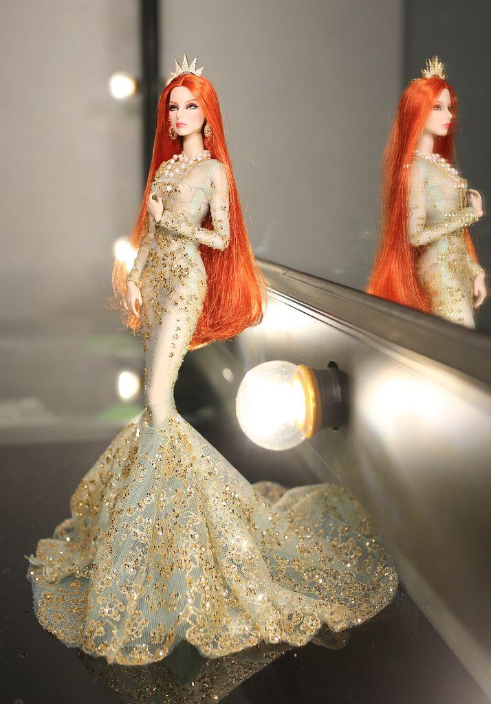 Fashion royalty Agnes - OOAK doll by Rimdoll - Mermaid fullsetA4145