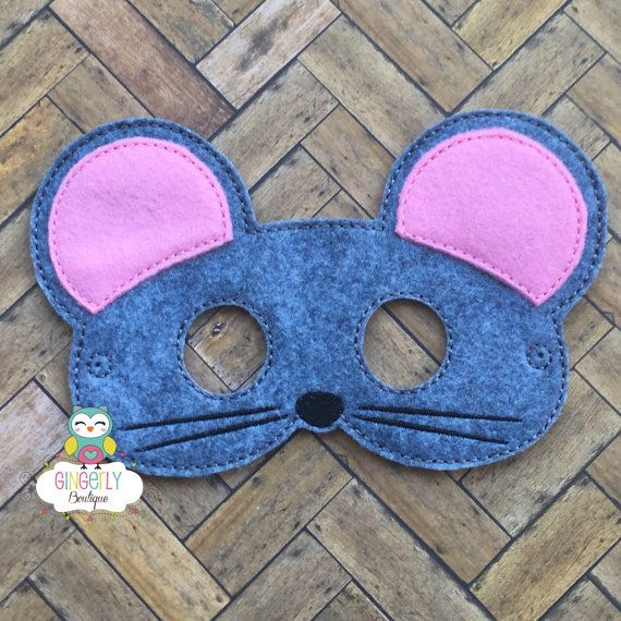 Máscara de ratón los niños vestido de máscara máscara de