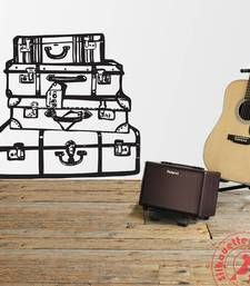 Buy Suitcase Pile wall stick on wall-decal online