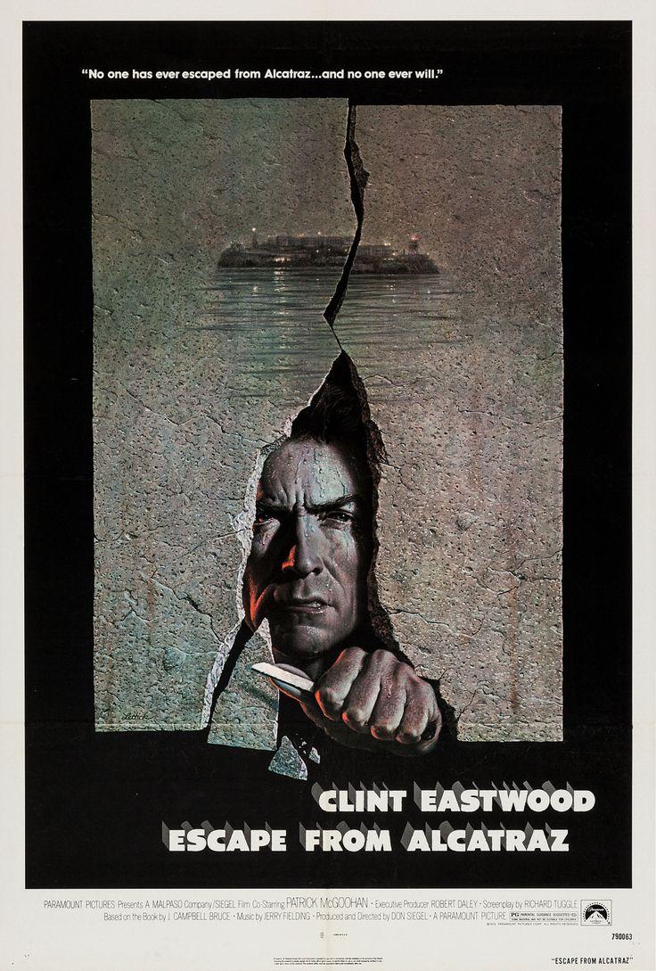 Fuga de Alcatraz (Escape From Alcatraz), de Don Siegel, 1979