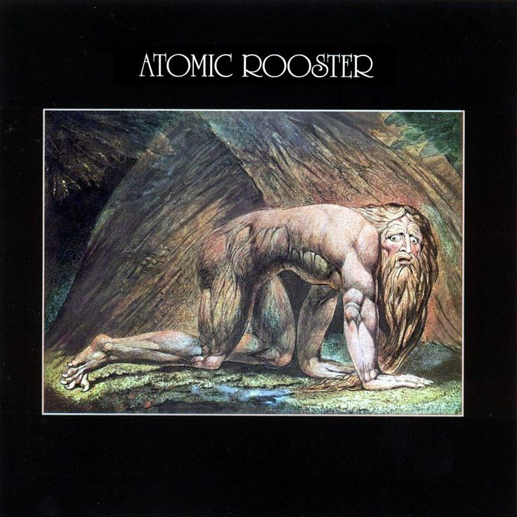 Atomic Rooster Death Walks Behind You Album Covers A