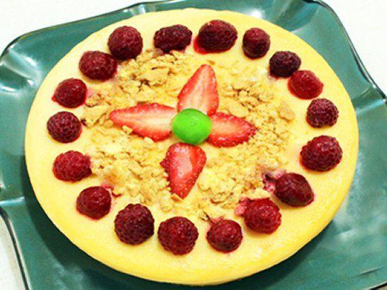 Torta de Queso y Limón en Olla de Cocción Lenta - Que Rica Vida