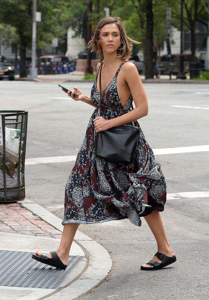 Jessica Alba en Nueva York