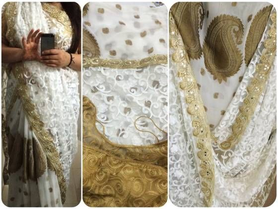 Buy Designer saree Online Vapi at Low Prices in India - Shopo.in