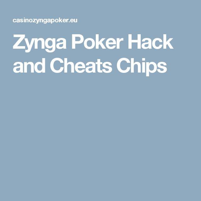 Zynga Poker Hack and Cheats Chips