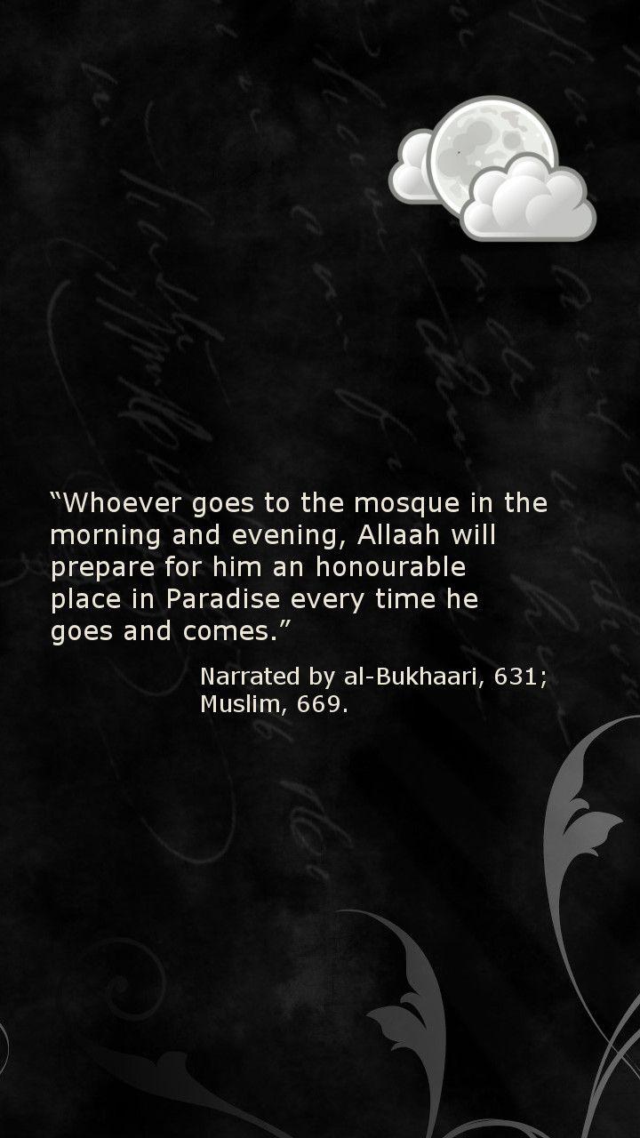 Going to the #Masjid (#Hadith, #Note3 Lockscreen)