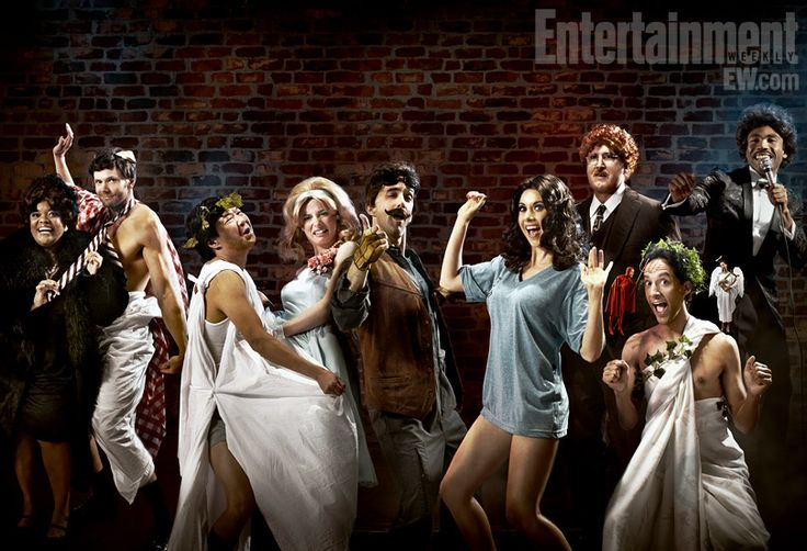 Community Cast...I love them so.  And hello, Joel's Arms.